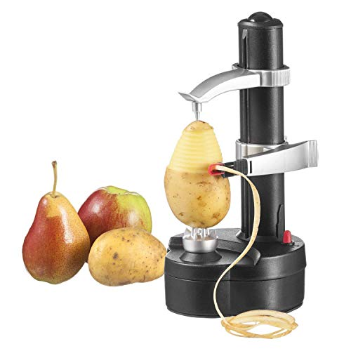 ParaCity Electric Peeler, Automatic Rotating Apple Peelers Potato Peeling Machine Fruits Vegetable Cutter Kitchen Peeling Tool