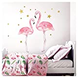 Little Deco Kinderzimmer Aufkleber Mädchen 2 Flamingos I