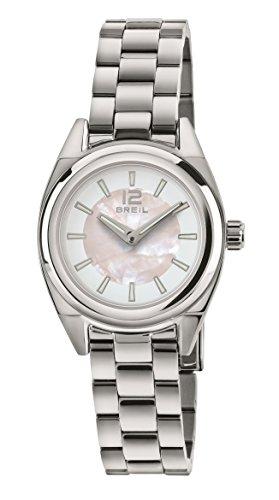 BREIL - Reloj de Señora de la Colección Master TW1536 - Reloj de Señora sólo con Horas - Correa de Acero - 30 mm