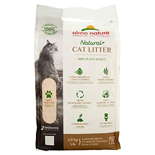 Almo Nature CatLitter 76 Katzenstreu, 2.27Kg, Einheitsgröße, beige