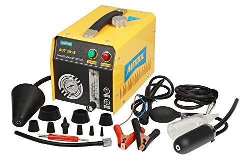 GOGOLO AUTOOL SDT-205S Automotive KFZ 12V Kraftstoff Lecksucher, EVAP-System-Lecktester Detektor mit Durchflussmesser-Anzeige Dual-Modi für alle Autos
