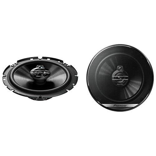 Pioneer TS-G1730F 3-Weg-Koaxiallautsprecher für Autos (300 W), 17 cm, kraftvoller Klang, IMPP-Membran für optimalen Bass, 40 W Eingangsnennleistung, 49.7 mm Einbautiefe, schwarz, 2 Lautsprecher