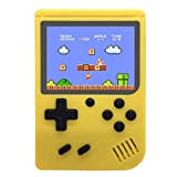 Handheld Retro FC Game Console Built-in 400 Classic NES Games, 1000mAh Rechargeable Battery