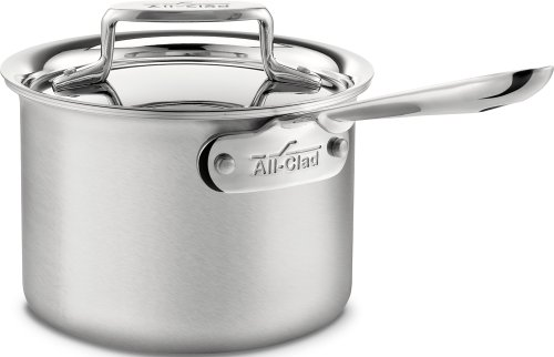 All-Clad D5 Stainless Steel Sauce Pan review