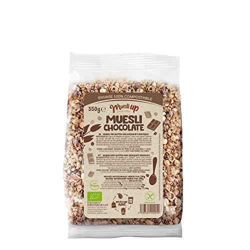 Muesli Up Muesli con Chocolate y Coco Gluten Free, 350g
