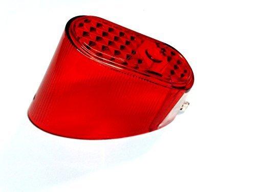 Rücklichtglas Rücklicht Glas für Puch MV/MS/VS/DS/Maxi - Zündapp Bergsteiger M 25 M 50 Typ 434
