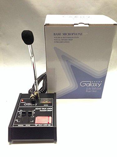 Galaxy Echomaster Base Echo Roger Beep CB Ham Microphone wired 4 pin Cobra