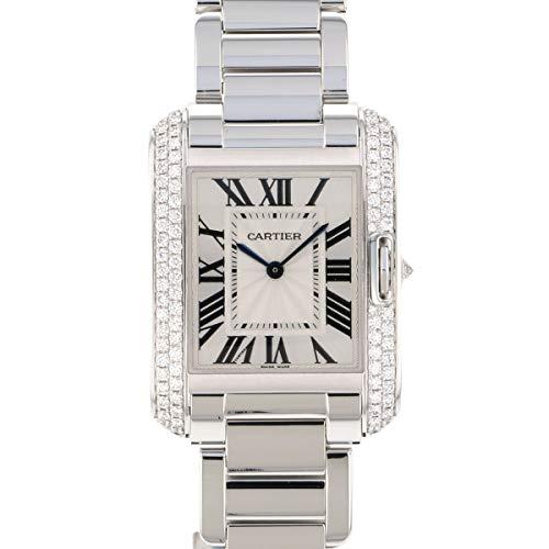 カルティエ Cartier タンク アングレーズ MM WT100028 シルバー文字盤 新品 腕時計 レディース (W187890) [並行輸入品]