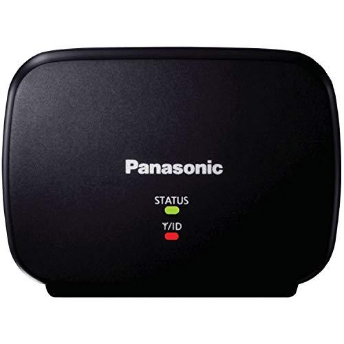 Panasonic KX-TGA407B Range Extender for DECT 6.0 Plus Cordless Phone Systems Landline Telephone Black