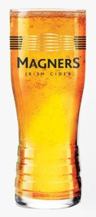 Magners Irish Cider - Vaso de cristal para sidra