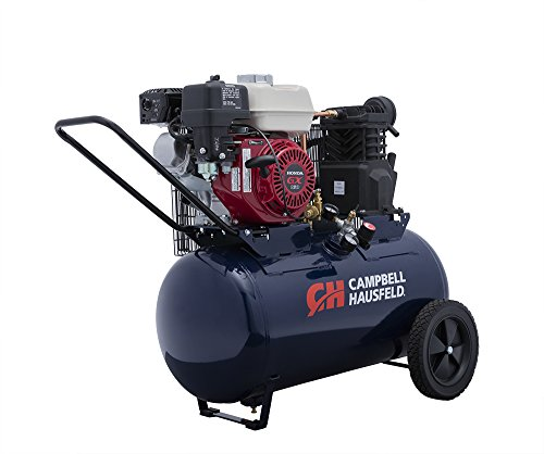 Air Compressor, Gas GX160 Honda Engine, Portable, 20 Gallon...