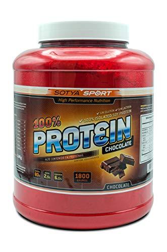 SOTYA Proteína Soja 100% Chocolate 1.8 kg