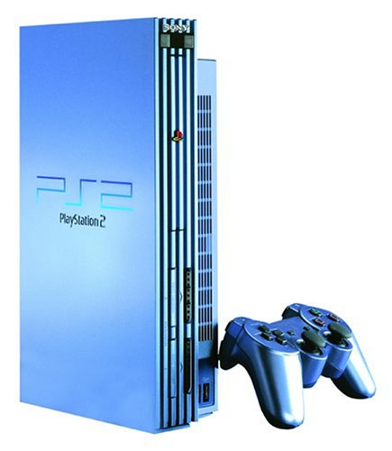 Console Playstation 2 Aqua Blue