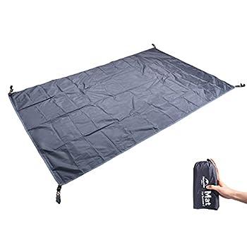 iBasingo Bâche de camping pour 2 personnes - Tapis de sol - Tapis de sol - Accessoires pour tente NH15Z006-P/Summer 2 - Correspond à l'asin B089PTHY28 et B07ZJ4YHD7