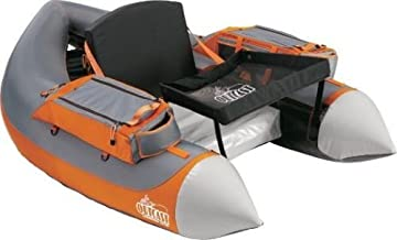Outcast Super Fat Cat -Gray/Orange Float Tube - with Free $35 Gift Card