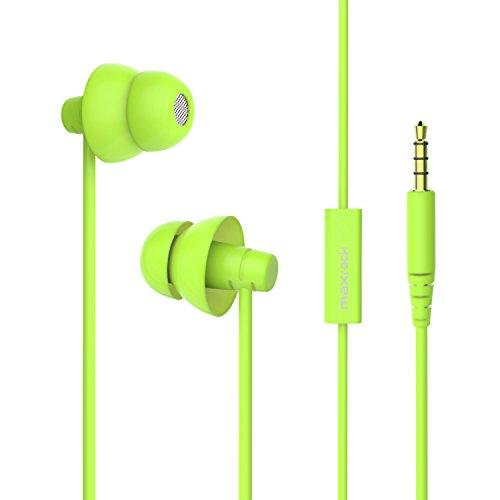 MAXROCK Noise Isolating Sleeping Headphones Earphones for Audiobook,Cellphones, Ipad and Audio Devices