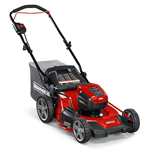 Snapper HD 48V MAX Cordless Electric 20-Inch Lawn Mower, Battery and Charger Not Included