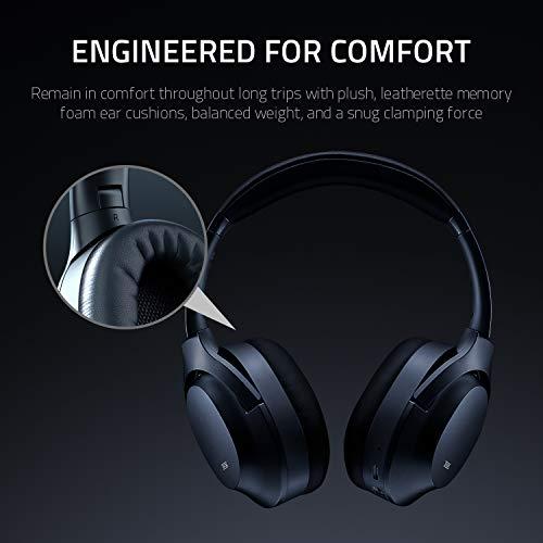 Razer Opus Active Noise Cancelling ANC Wireless Headphones: THX Audio Tuning - 25 Hr Battery - Bluetooth