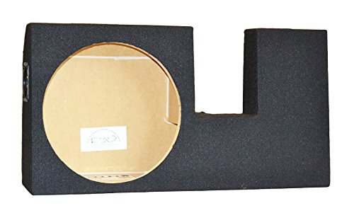 "SoundBox F150 SuperCrew/SuperCab 2004-2008 Single 10"" Subwoofer Enclosure"