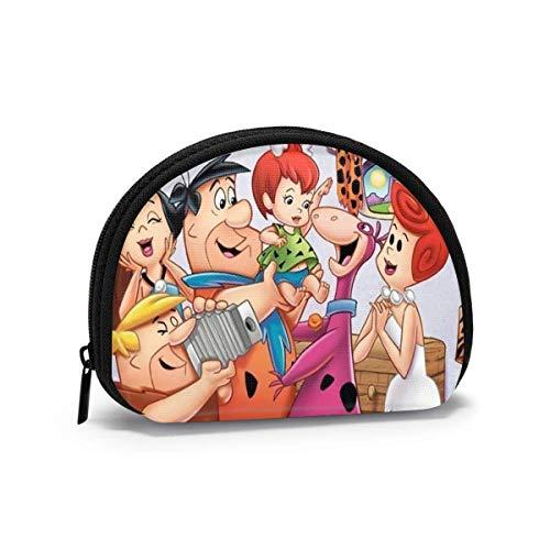 Programa de televisión The Shell Storage Bag Mujeres y niñas Cute Fashion Zip Coin Purse t Bag