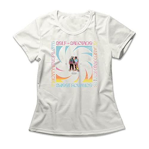 Camiseta Feminina Twenty One Pilots Choker