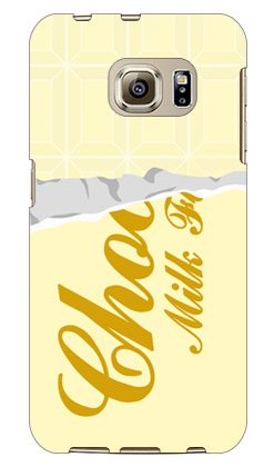 SECOND SKIN ホワイトチョコレート / for Galaxy S6 edge 404SC/SoftBank  SSC404-ABWH-101-W001