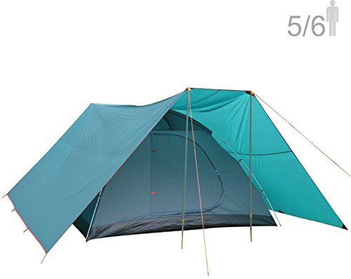 NTK Savannah GT Five To Six Person Outdoor Dome Family Camping Tent