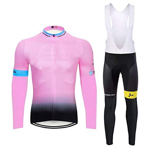 T-JMGP Maillot Ciclismo Hombre,Ropa De Ciclismo para Hombres, Chaqueta De Bicicleta De...