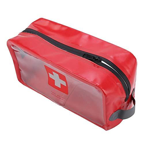 Haowecib Bolsa de Primeros Auxilios, Bolsa de botiquines médicos Práctica y rápida para Encontrar medicamentos Bolsa de Supervivencia de Emergencia Use Agua para lavarse en Cualquier Clima(Large)
