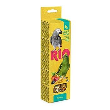 RIO Bâtonnets pour Perroquet avec Fruits et Baies 150 g