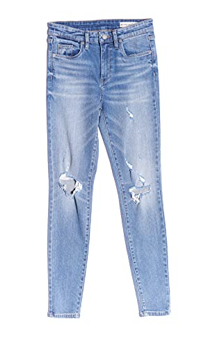 [BLANKNYC] Womens Luxury Clothing Stylish Mid-Rise Skinny Jeans, Fashionable Pants, Comfortable & Fitting, Casual Wear, The Bond, Coming in Hot, 29