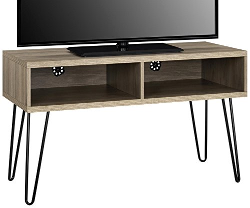 Ameriwood Home Owen Collection Retro TV Stand, Rustic Oak