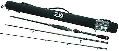 Daiwa ARDT763MHFS-TR Ardito-TR Multipiece Travel Spinning Rod, 7'6