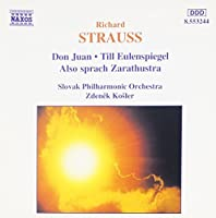 Strauss: Don Juan; Till Eulenspiegel; Also sprach Zarathustra by Richard Strauss (1998-03-03)