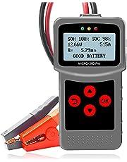 Kuchoow Comprobador De Baterias Automotriz 12V 40-2000 CCA Probador de Coches Batería para Vehículo Barco Motocicleta 3-220Ah