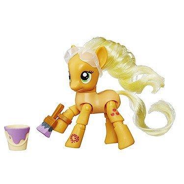 My Little Pony Applejack Pintura Varias Posturas Poni