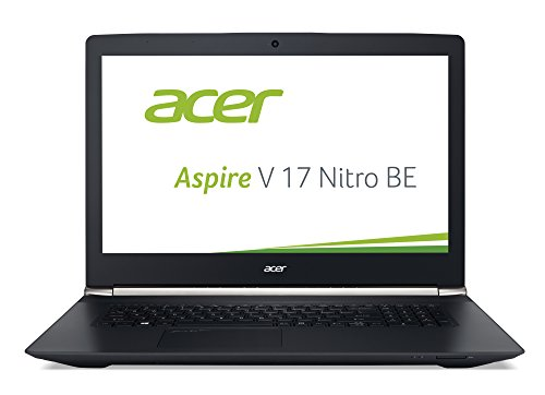 Acer Aspire V 17 Nitro Black Editon (VN7-792G-726L) 43,9 cm (17,3 Zoll Ultra HD IPS) Laptop (Intel Core i7-6700HQ, 16GB DDR4-RAM, 1TB HDD, 256GB SSD, NVIDIA GeForce GTX 960M, Win 10 Home) schwarz