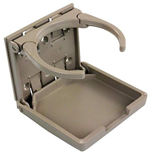 JR Products 45623 Tan Adjustable Cup Holder