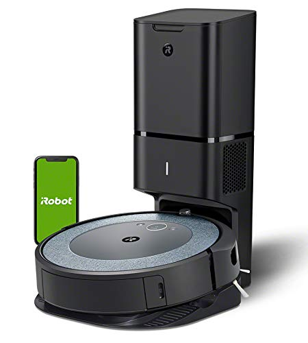 iRobot Roomba i3552 - Robot Aspirador con mapeo, Wi-Fi y Vaciado automático de la Suciedad - Ideal Mascotas - Sugerencias Personalizadas - Compatible con asistentes de Voz y Coordinación Imprint