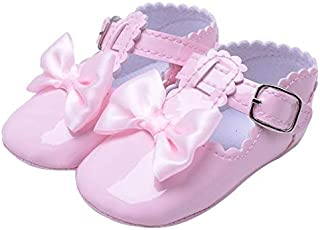 CXBH Flower Spring/Autumn Infant Baby Shoes Moccasins Newborn Girls Booties for Newborn 3 Color Available 0-18 Months45 (B...