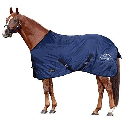 Horses Coperta Box Preseason 100gr Blu 155 cm
