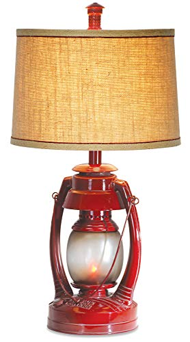 Vintage Lantern Table Lamp