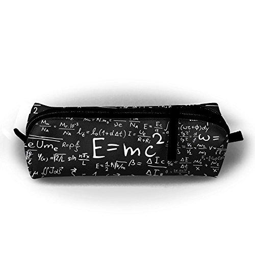 Estuche para lápices de estudiantes, diseño de ecuaciones físicas, con cremallera, para niños, adolescentes y otros suministros escolares