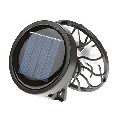 Sharplace Portátil Mini Solar Powered Clip Ventilador Ventilador Sombrero Cap Fan Ahorro De Energía De Viaje De Verano De Camping