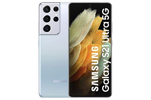 Smartphone Samsung Galaxy S21 Ultra 5G Prateado - 6.8