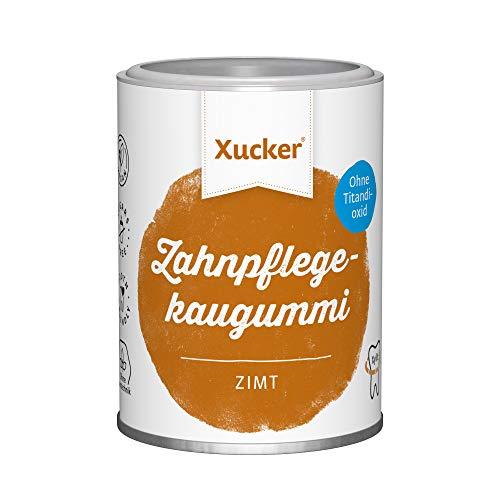 100 g Xucker Xylit-Kaugummis ohne TiO2, Zimt