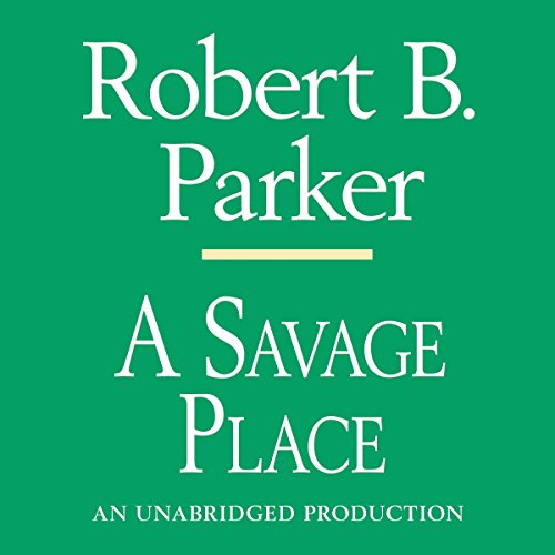 A Savage Place audiobook cover art