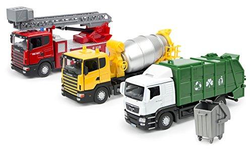 Herpa minikit MB arocs m hormigoneras-camión blanco 013147