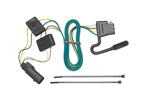 Tekonsha Tow Harness, 4-Way Flat, Compatible with Select Ford Escape : Mazda...