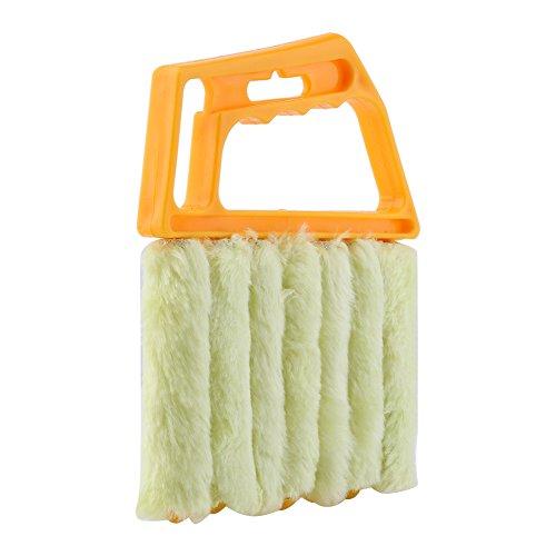 Estink Limpiador de persianas, cepillo para persianas, limpiador de ventanas, limpiador de aire acondicionado, limpiador de polvo, lavable